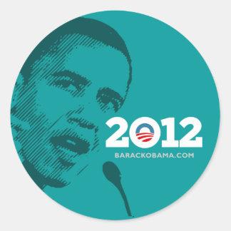 Obama 2012 stickers