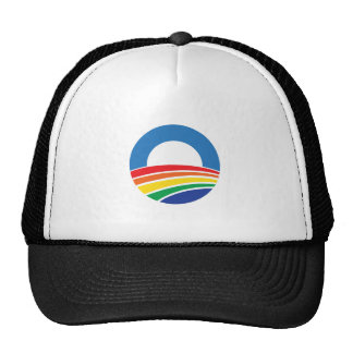 Obama 2012 Support for Gay Marriage Trucker Hat