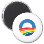 Obama 2012 Support for Gay Marriage 6 Cm Round Magnet