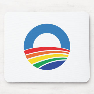 Obama 2012 Support for Gay Marriage Mousepad