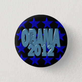 Obama 2012 Support our president on 30 items 3 Cm Round Badge