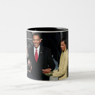 Obama 2012 Two-Tone coffee mug