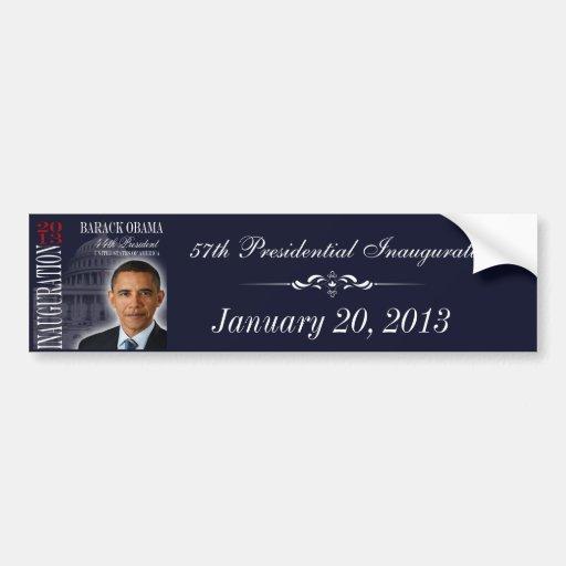 Obama 2013 Inauguration Bumper Sticker