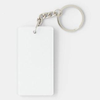 Obama 2013 Pro LGBT Inaugural Address Single-Sided Rectangular Acrylic Key Ring