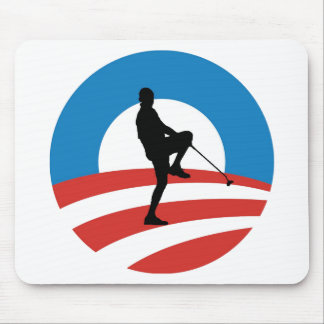 "Obama ""2014"" Victory Tour Mouse Pad"