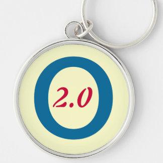 Obama 2.0 2012 Premium Keychain