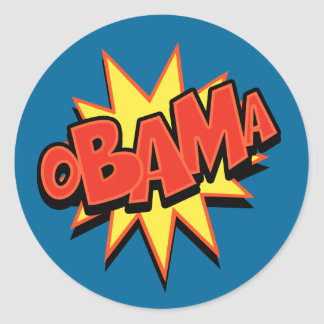 oBAMa-2 Classic Round Sticker