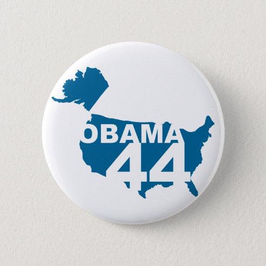 Obama 44 Button