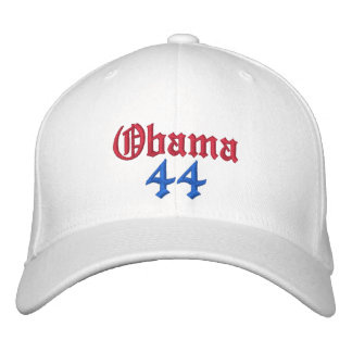 Obama 44 Embroidered Hats