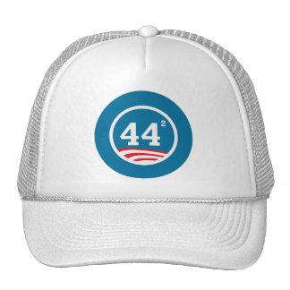 Obama - 44 Squared Cap