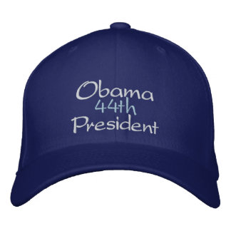 OBAMA 44th PRESIDENT, 2nd TERM INAUGURATION, 2013 Embroidered Cap