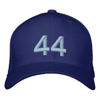 OBAMA 44TH PRESIDENT OF THE UNITED STATES, 2nd Ter Embroidered Cap