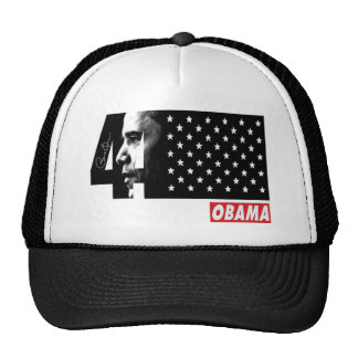 OBAMA 44TH President Signature Editions Hat