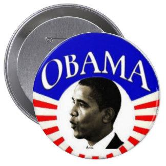 Obama 4-inch Button