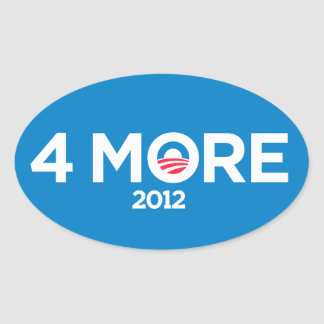 Obama 4 More Years 2012 Stickers