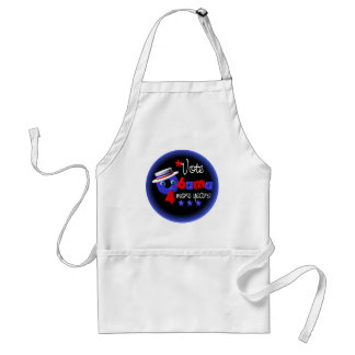 Obama- 4 more years adult apron