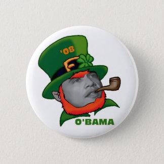 O'BAMA 6 CM ROUND BADGE