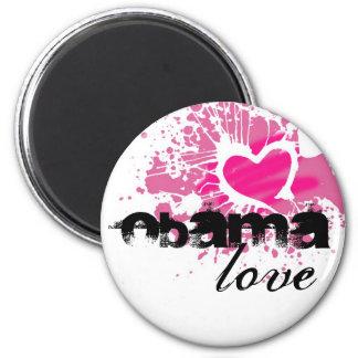 Obama 6 Cm Round Magnet