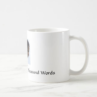 Obama, A Picture Is Worth A Thousand Words Basic White Mug