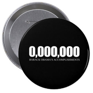 Obama Accomplishments 10 Cm Round Badge