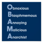 Obama-Acronym Print