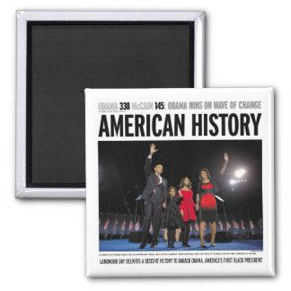 Obama: American History Magnet