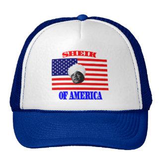 Obama, American Sheik Hat
