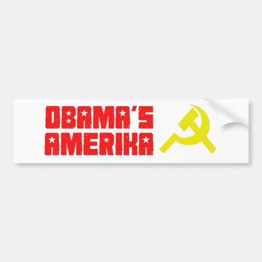 Obama Amerika 3 Bumper Sticker