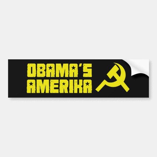 Obama Amerika Bumper Sticker