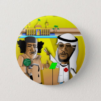 Obama and The Colonel 6 Cm Round Badge