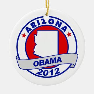 Obama - Arizona Christmas Ornament