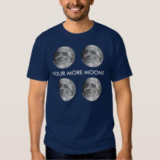obama as the moon (4) T-Shirt