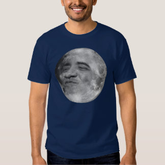 obama as the moon shirt