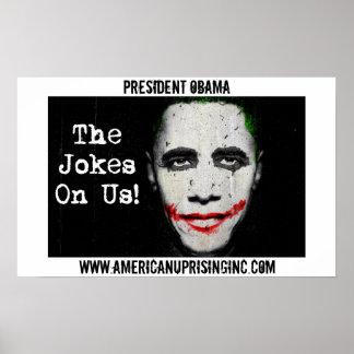 Obama AUI Joker Poster
