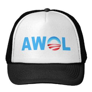 OBAMA AWOL CAP