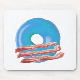 Obama Bacon Donuts Mousepad