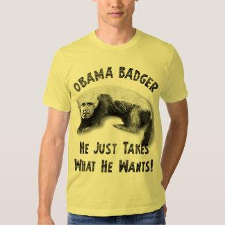 Obama Badger - 2012 T Shirt