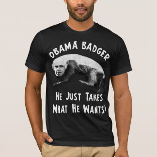 Obama Badger - 2012 T-Shirt