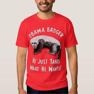 Obama Badger - 2012 Tee Shirt