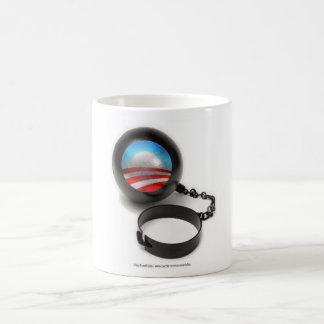 Obama Ball and Chain Basic White Mug
