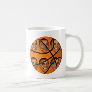 Obama Ball Basic White Mug