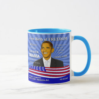 Obama Baltimore Maryland Celebration Mug