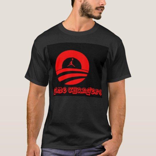 Obama basketball hip hop t-shirt