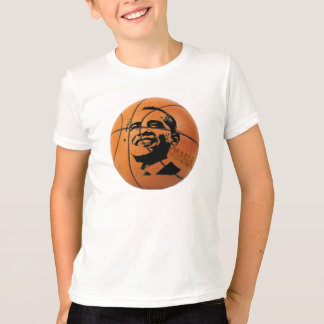 Obama Basketball Kid's Ringer Shirt