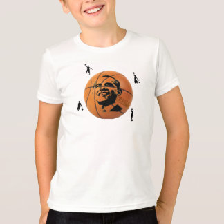 Obama Basketball Kid's Shirt