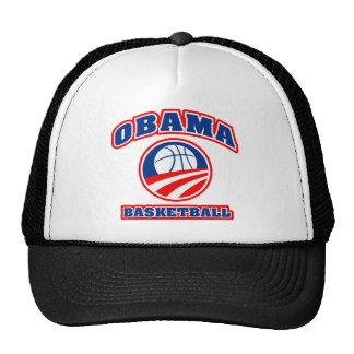 Obama Basketball red white blue v3 Cap
