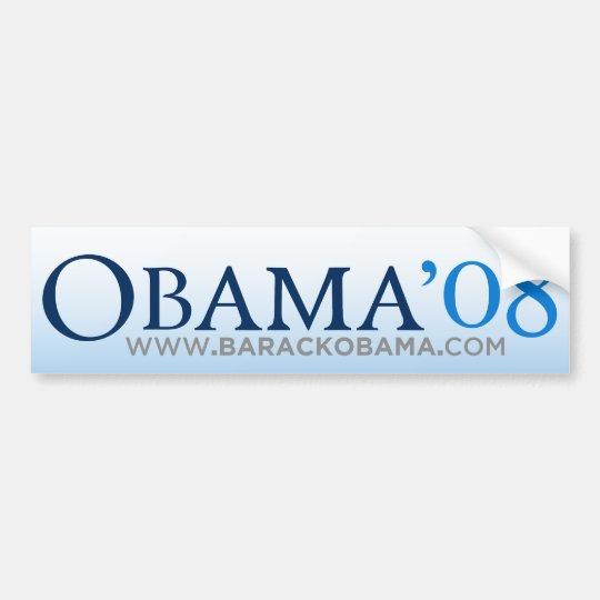 Obama Biden 08 Bumper Sticker