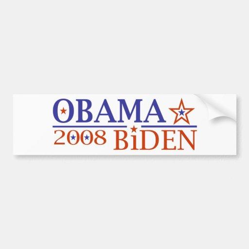 Obama Biden 08 Bumper Stickers