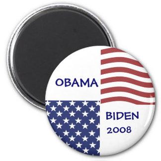 OBAMA-BIDEN 2008 Democratic Ticket Magnet