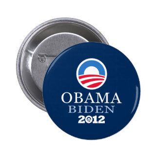 Obama Biden 2012 6 Cm Round Badge